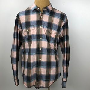 Tommy Bahama Mens Plaid Button Down Shirt Size XL